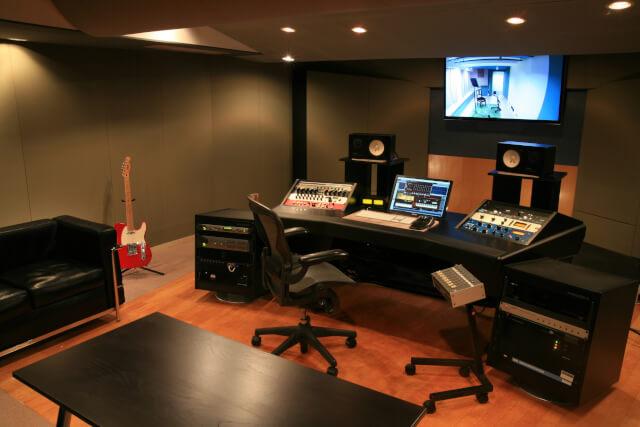 バーニッシュストーンレコーディングスタジオ スタジオ2