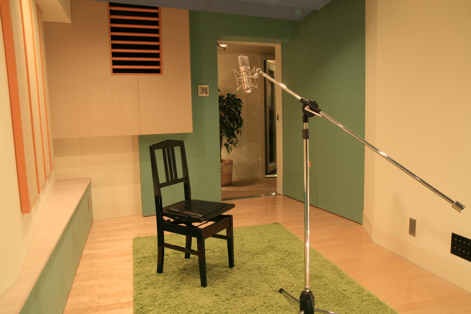 バーニッシュストーンレコーディングスタジオ スタジオ2ブース