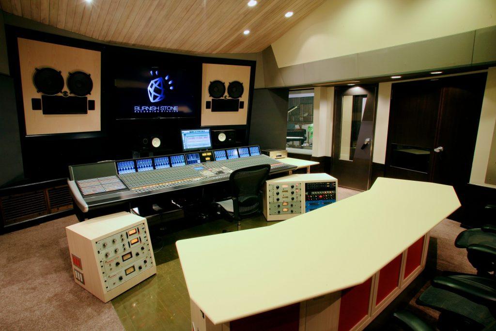 バーニッシュストーンレコーディングスタジオ スタジオ1