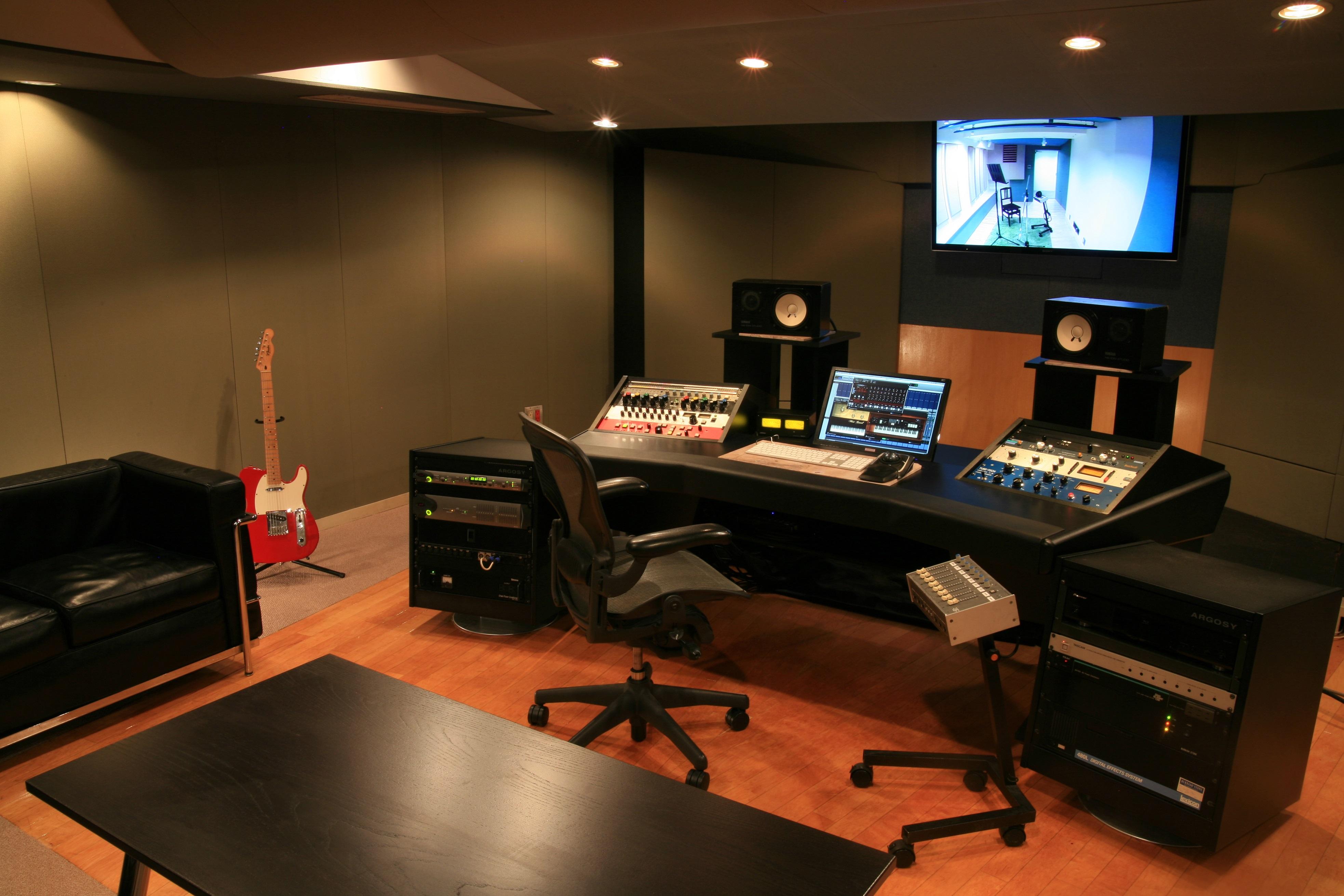 バーニッシュストーンレコーディングスタジオ【スタジオ2】 | VAST ...